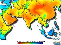 Carte Thailande Climat.Lamai Hotel Samui Climat